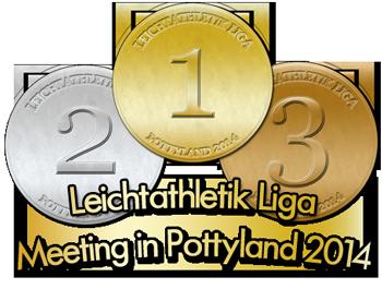 Logo Leichtathletik Meeting Pottyland 2014